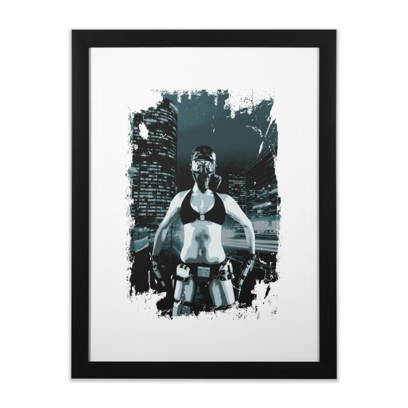Masked Sexy Killer Home Framed Fine Art Print by WaWaTees Shop