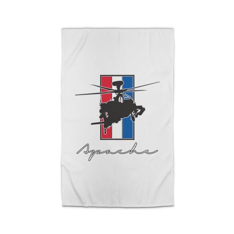 Apache Helicopter Home Rug by WaWaTees Shop