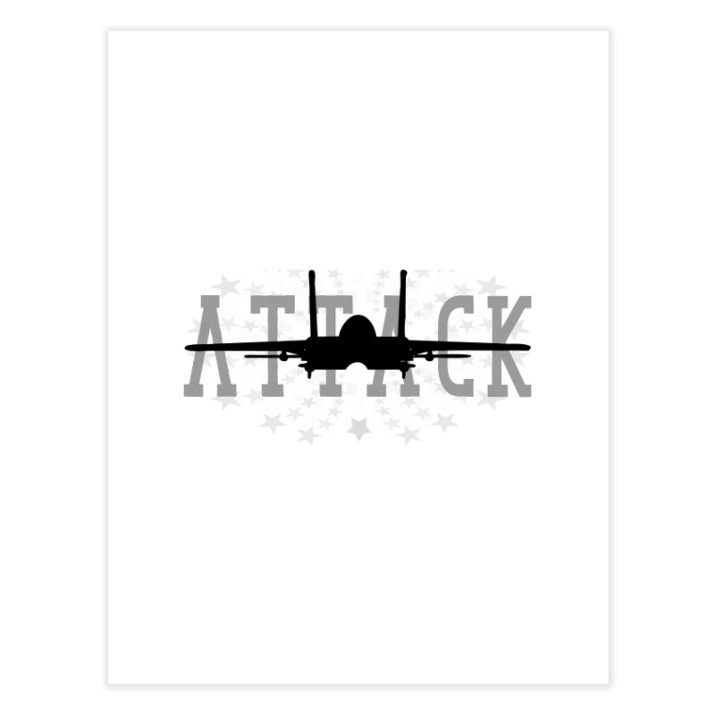 Tomcat Attack Home Fine Art Print by WaWaTees Shop
