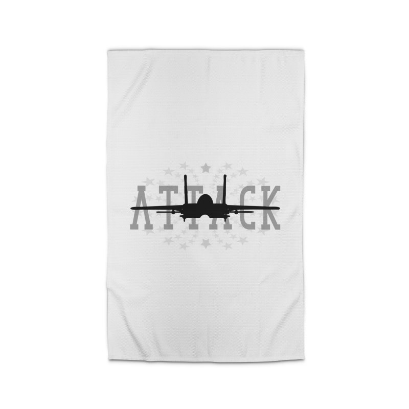 Tomcat Attack Home Rug by WaWaTees Shop