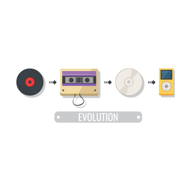 Music Evolution by WaWaTees Shop