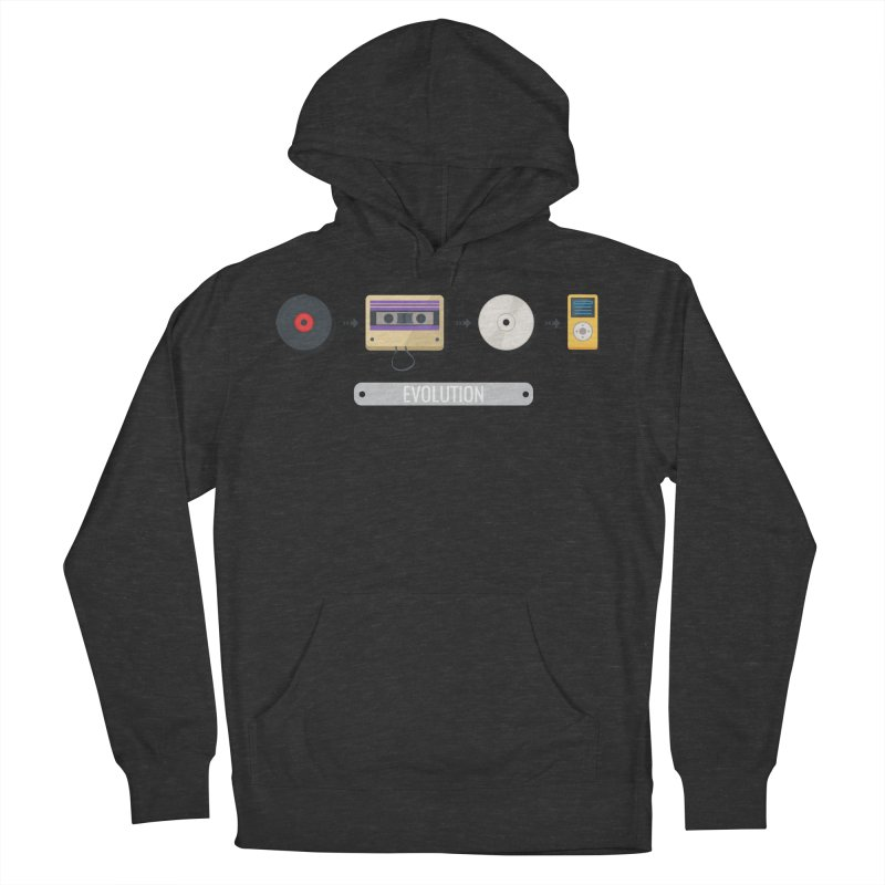 Music Evolution Men's Pullover Hoody by WaWaTees Shop