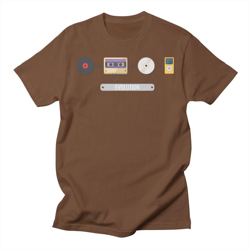 Music Evolution Men's T-shirt by WaWaTees Shop