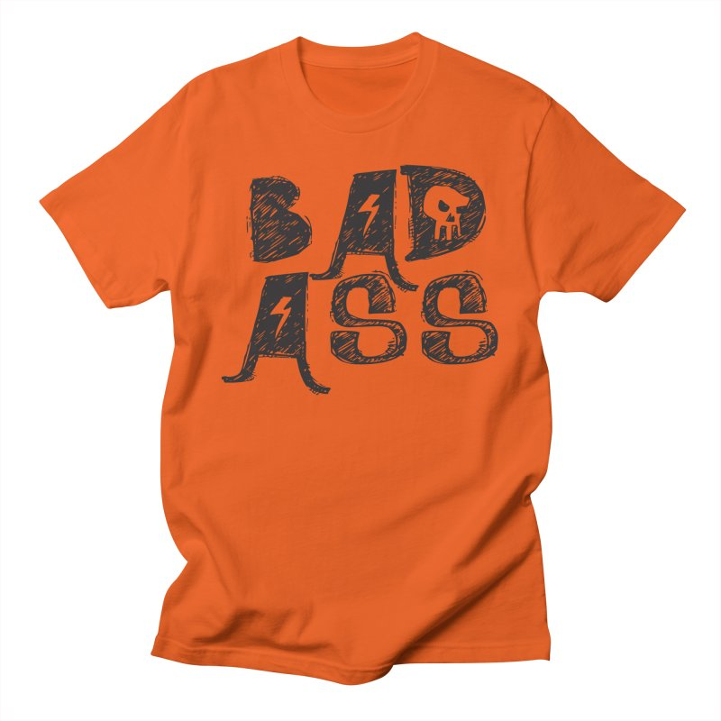 Bad Ass Men's T-shirt by WaWaTees Shop
