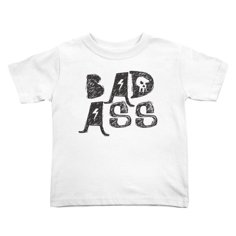 Bad Ass Kids Toddler T-Shirt by WaWaTees Shop