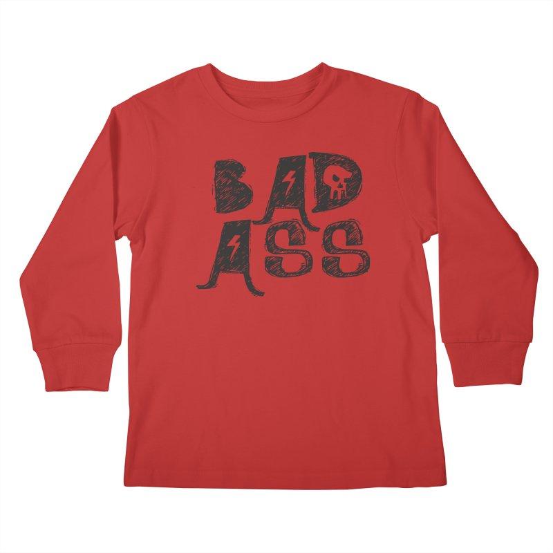 Bad Ass Kids Longsleeve T-Shirt by WaWaTees Shop