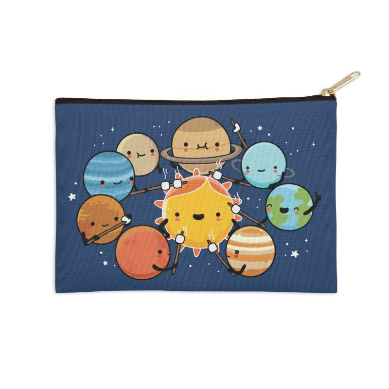 Planets camping Accessories Zip Pouch by wawawiwadesign's Artist Shop