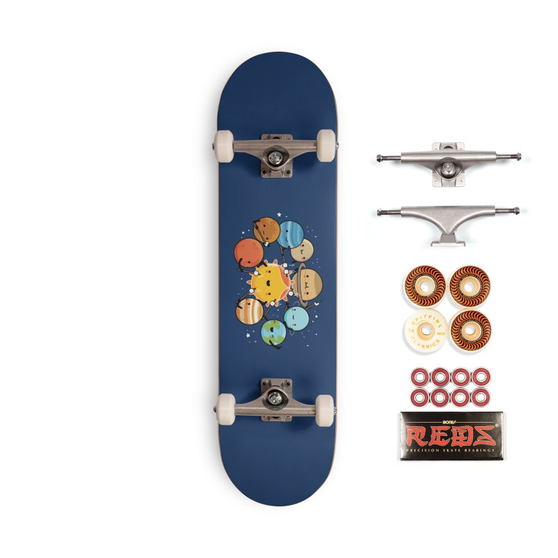 Planets camping Accessories Skateboard by wawawiwadesign's Artist Shop
