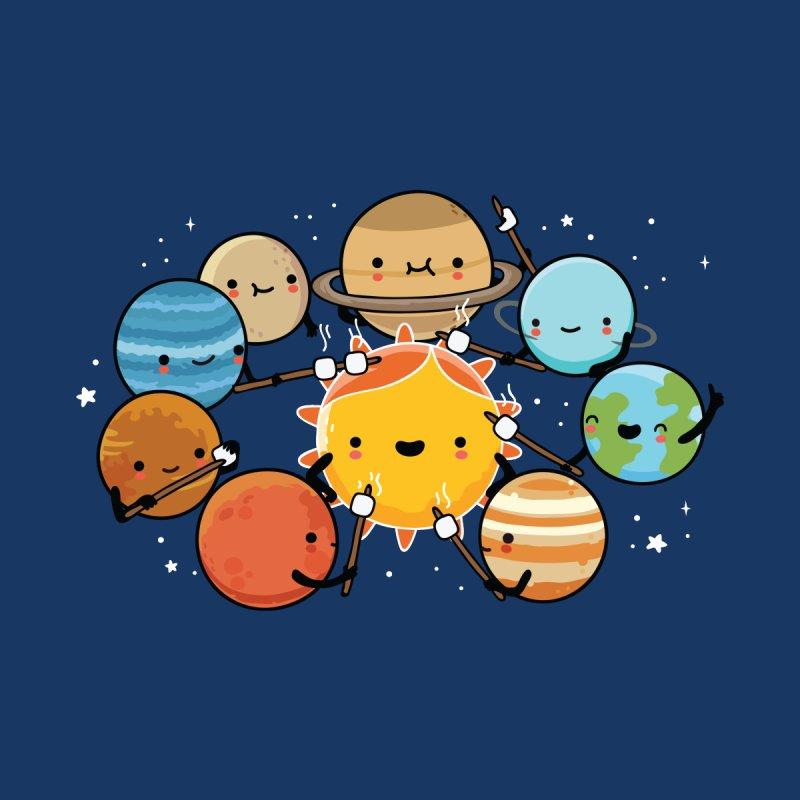 Planets camping Kids T-Shirt by wawawiwadesign's Artist Shop