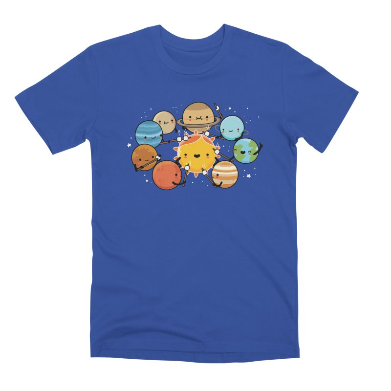 Planets camping Men's T-Shirt by wawawiwadesign's Artist Shop