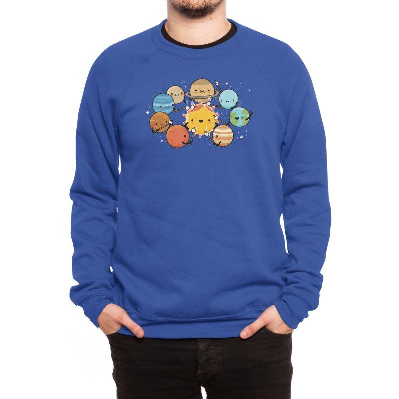 Planets camping Men's Sweatshirt by wawawiwadesign's Artist Shop