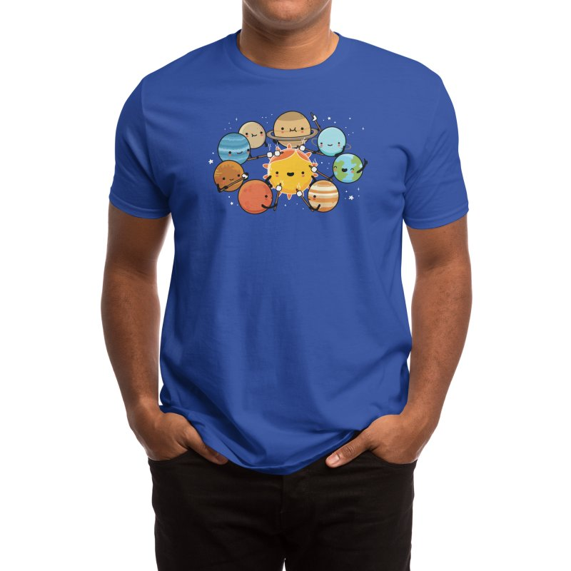 Planets camping Men's T-Shirt by wawawiwadesign's Artist Shop