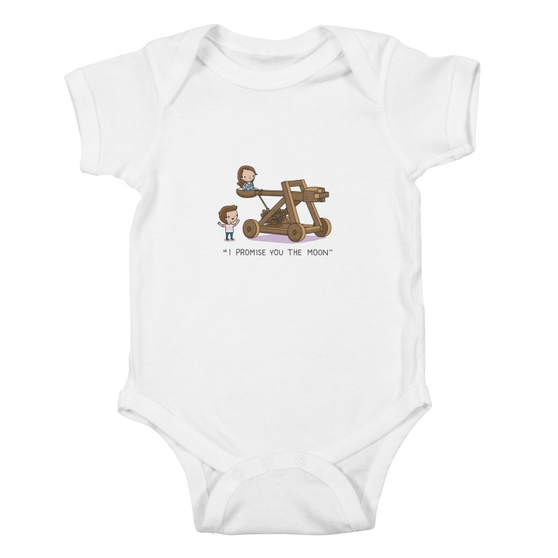 The promise Kids Baby Bodysuit by wawawiwadesign's Artist Shop
