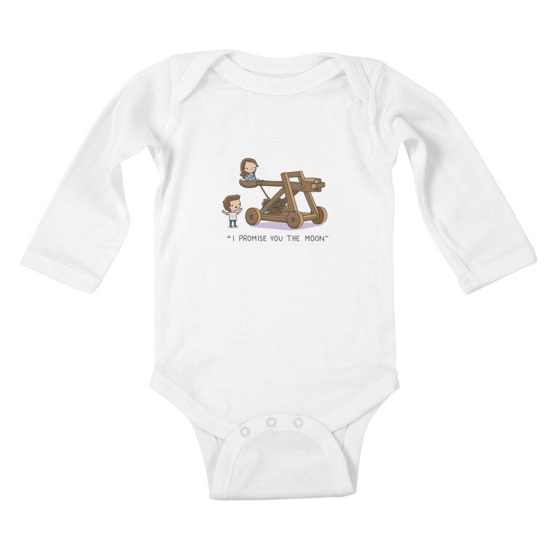 The promise Kids Baby Longsleeve Bodysuit by wawawiwadesign's Artist Shop