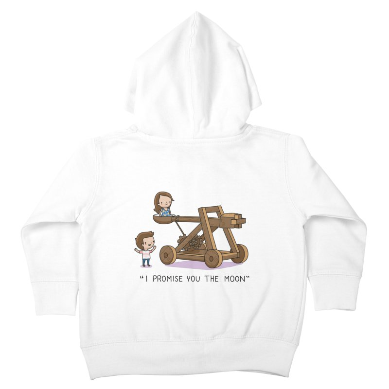 The promise Kids Toddler Zip-Up Hoody by wawawiwadesign's Artist Shop