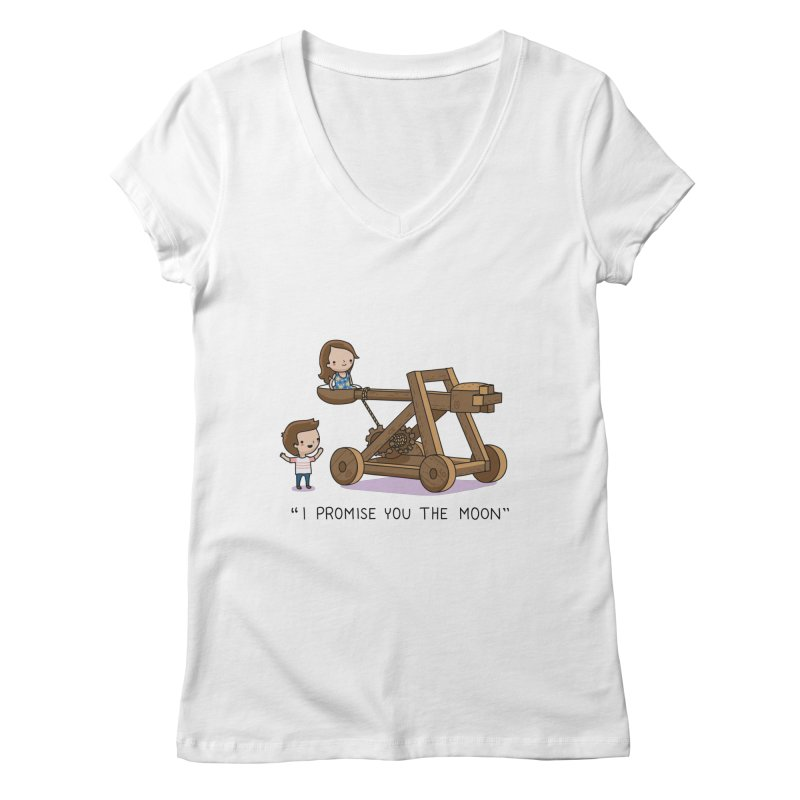 The promise Women's V-Neck by wawawiwadesign's Artist Shop