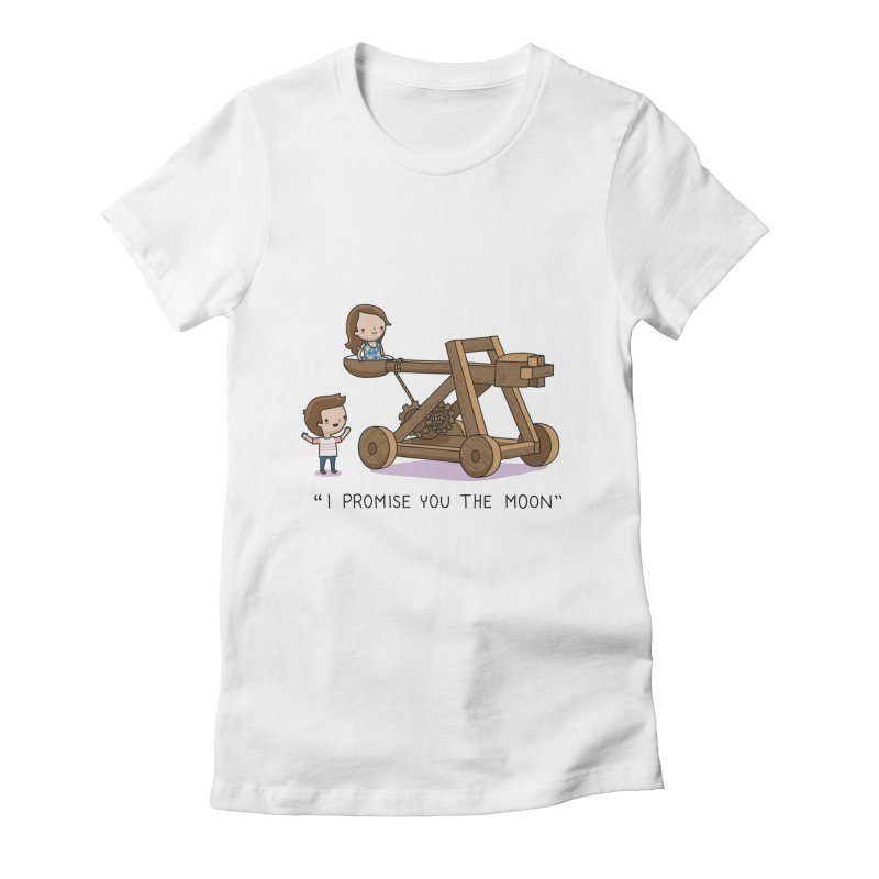 The promise Women's Fitted T-Shirt by wawawiwadesign's Artist Shop