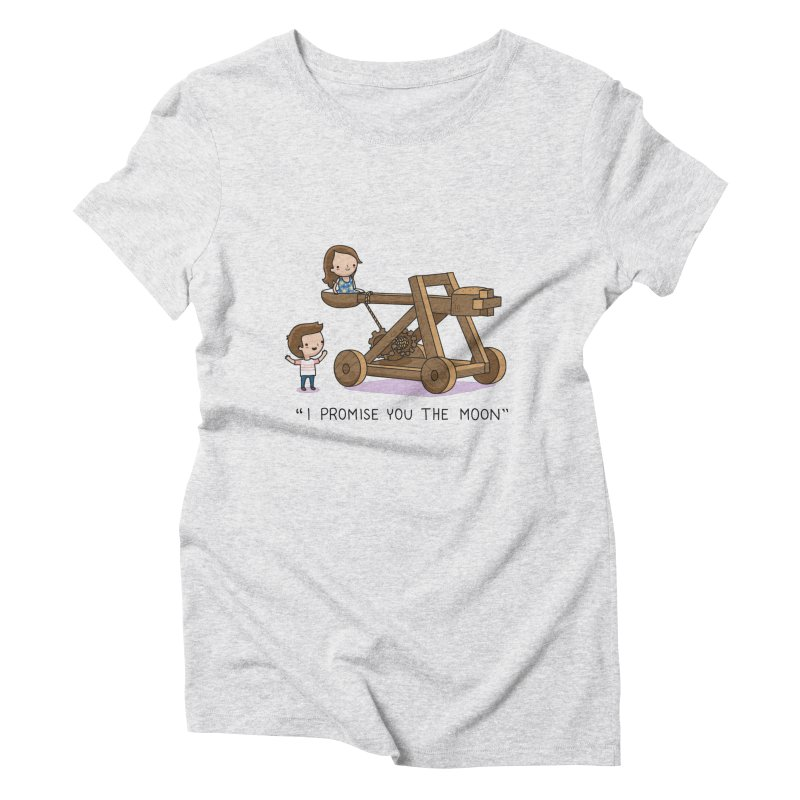 The promise Women's Triblend T-Shirt by wawawiwadesign's Artist Shop