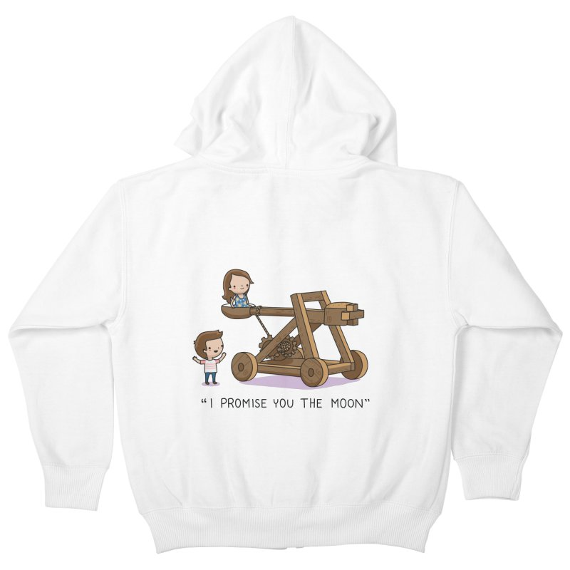 The promise Kids Zip-Up Hoody by wawawiwadesign's Artist Shop