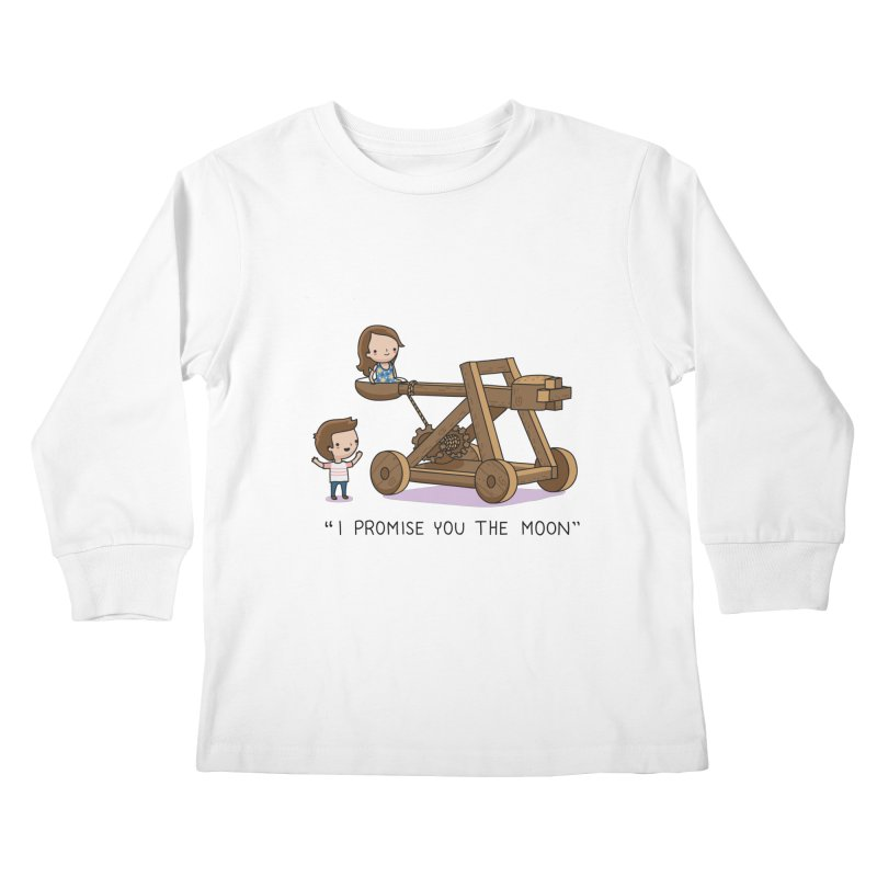 The promise Kids Longsleeve T-Shirt by wawawiwadesign's Artist Shop