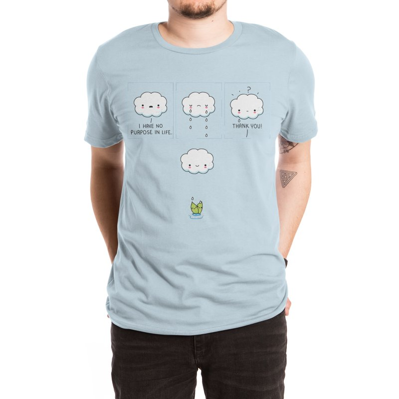 Purpose in life Men's T-Shirt by wawawiwadesign's Artist Shop