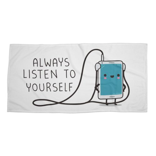 image for Listen to yourself
