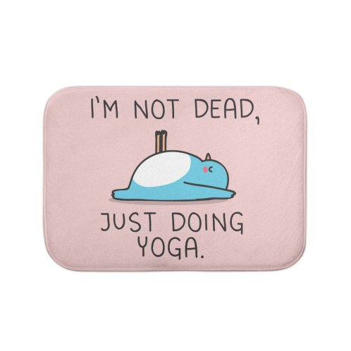 image for Not dead, just doing yoga