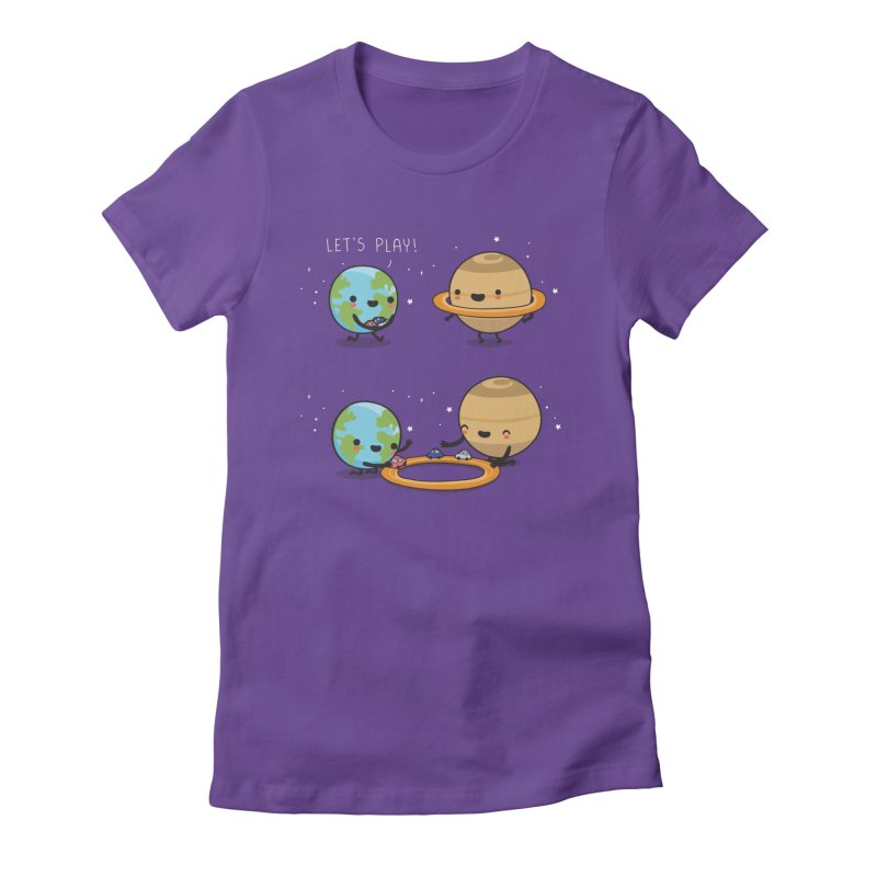 Let's play Women's T-Shirt by wawawiwadesign's Artist Shop