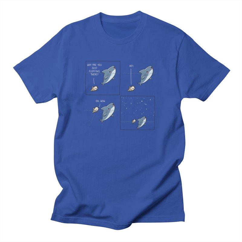 Stargazing Men's T-Shirt by wawawiwadesign's Artist Shop