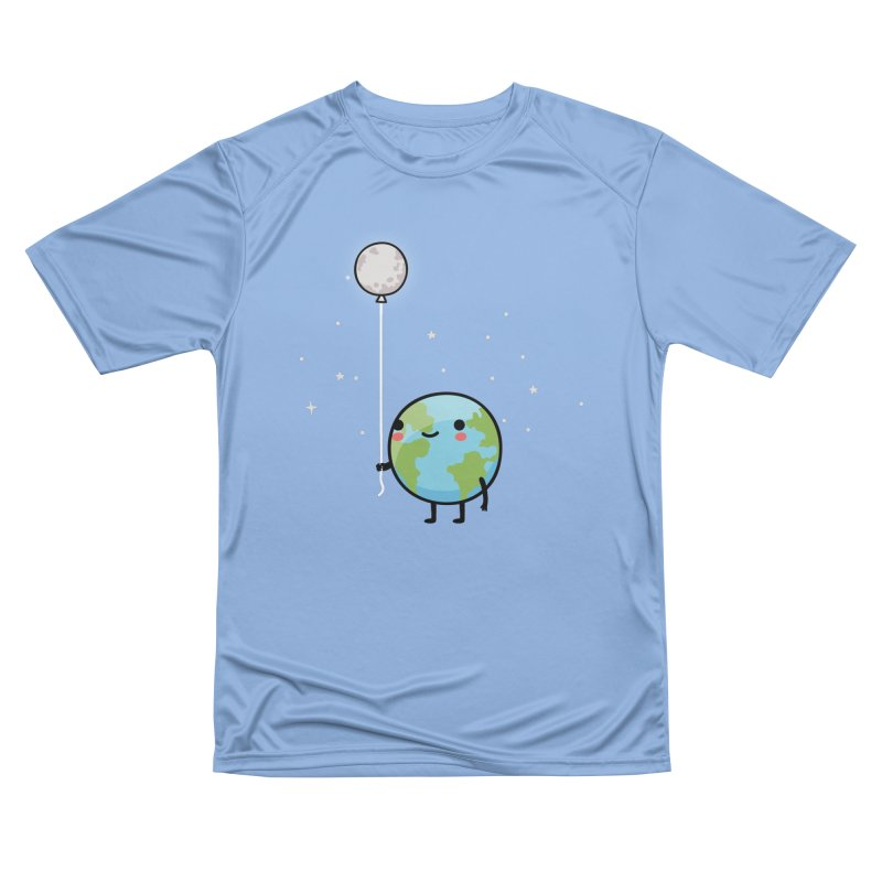 Earth & Moon Women's T-Shirt by wawawiwadesign's Artist Shop