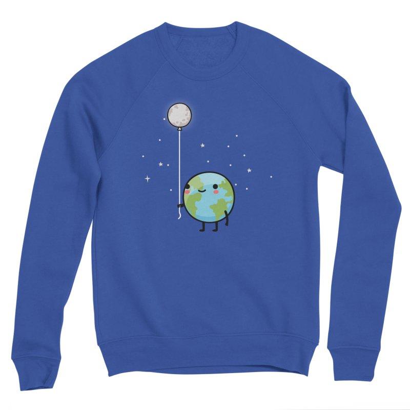 Earth & Moon Women's Sweatshirt by wawawiwadesign's Artist Shop