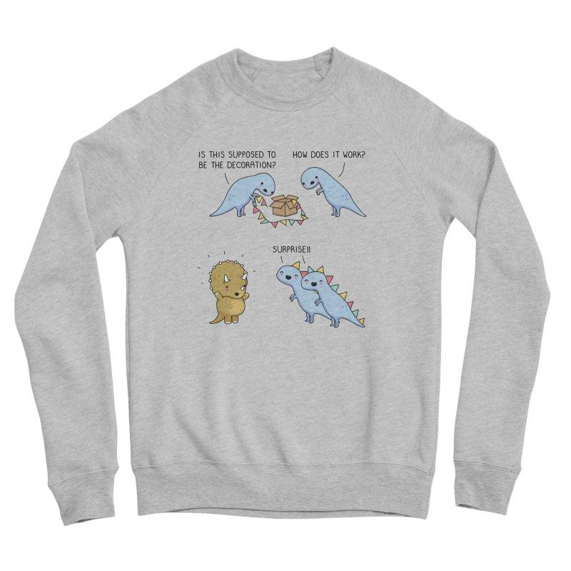 Dinosaur surprise Women's Sweatshirt by wawawiwadesign's Artist Shop