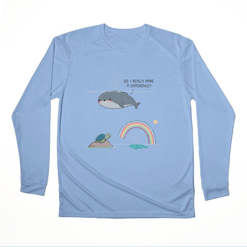 You make a difference Men's Longsleeve T-Shirt by wawawiwadesign's Artist Shop