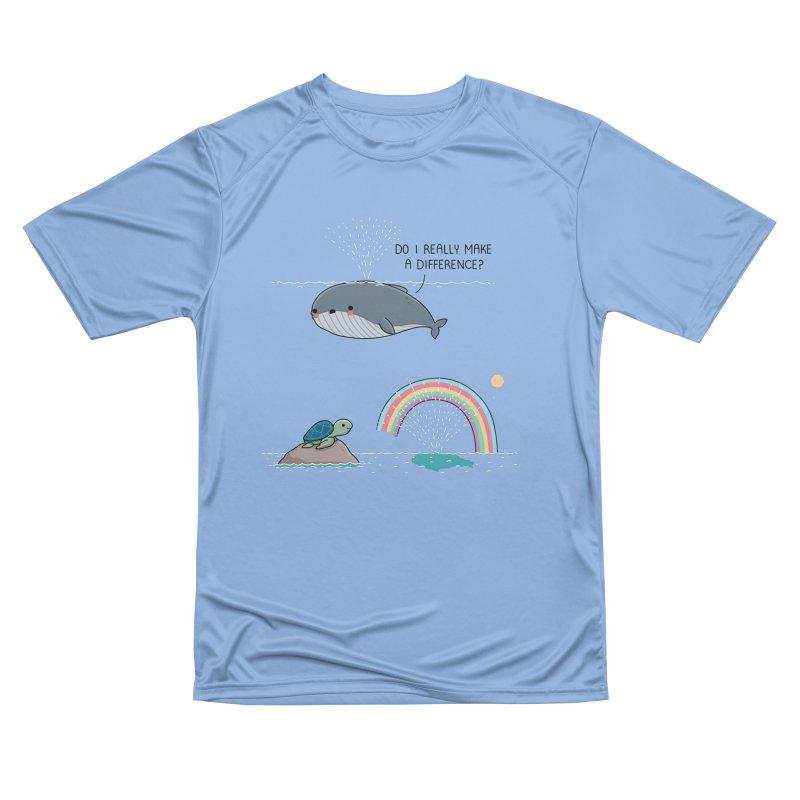 You make a difference Women's T-Shirt by wawawiwadesign's Artist Shop