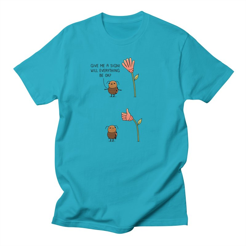 Give me a sign Men's T-Shirt by wawawiwadesign's Artist Shop