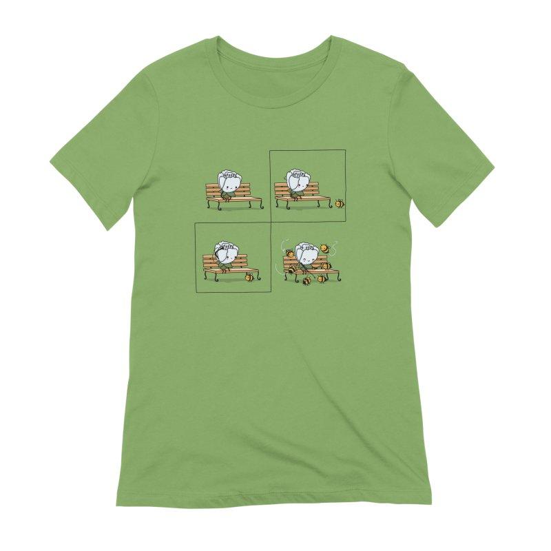 Notice the good Women's T-Shirt by wawawiwadesign's Artist Shop