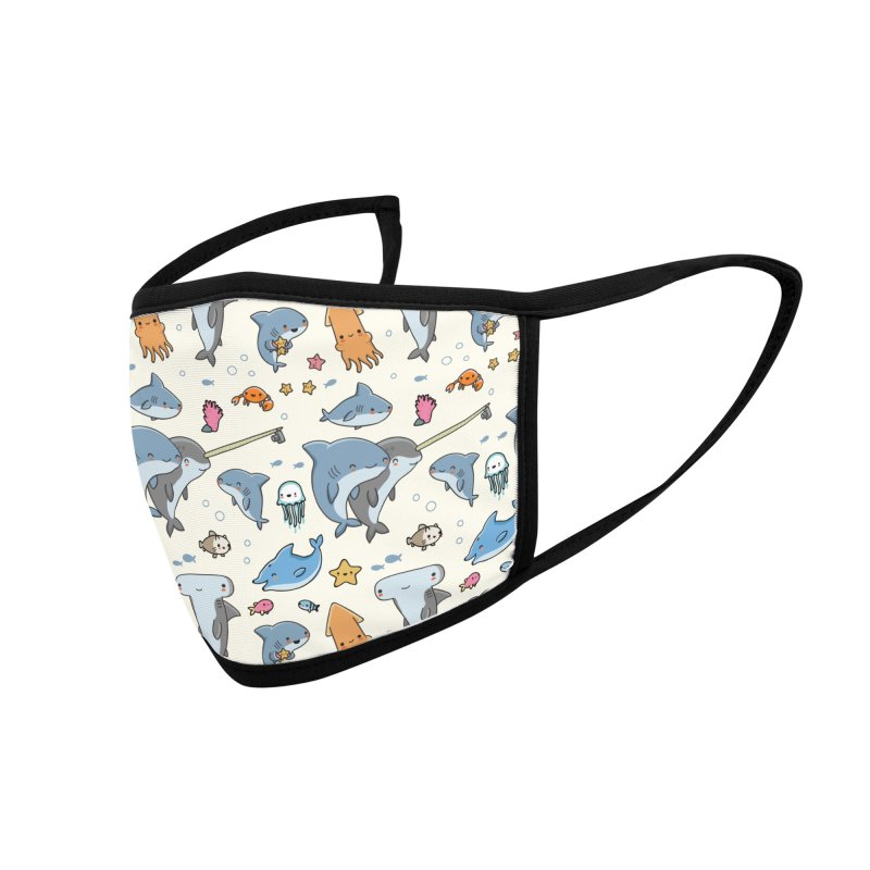 Sea life - Face mask Accessories Face Mask by wawawiwadesign's Artist Shop