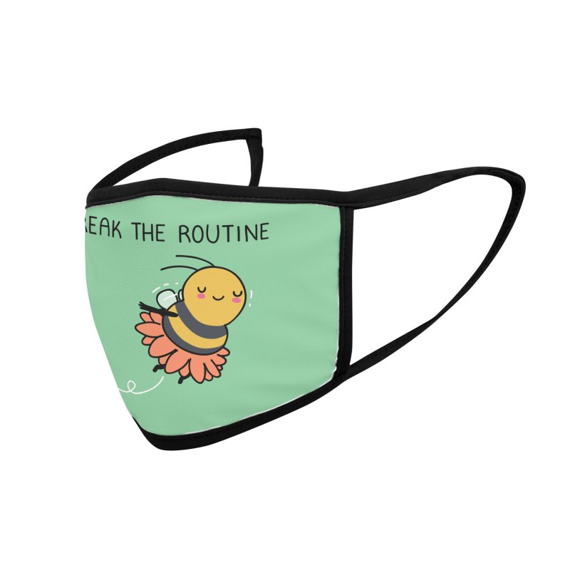 Break the routine Accessories Face Mask by wawawiwadesign's Artist Shop