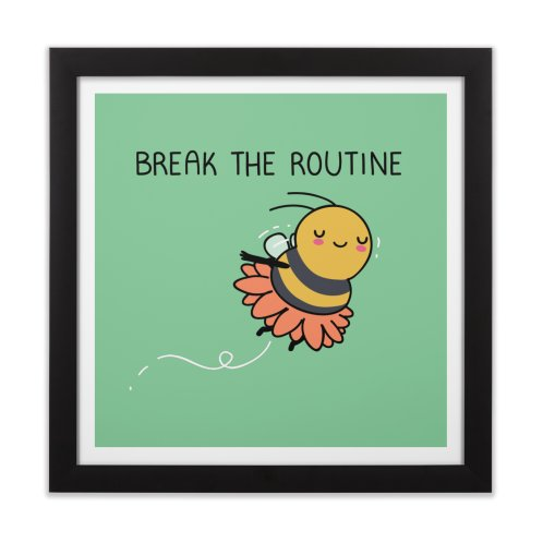 image for Break the routine