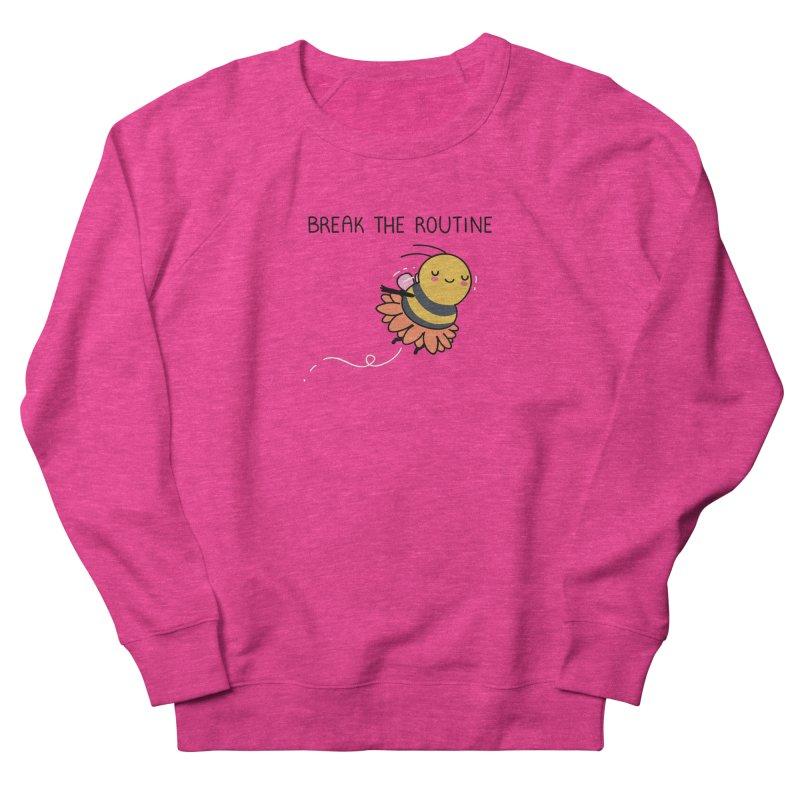 Break the routine Men's Sweatshirt by wawawiwadesign's Artist Shop
