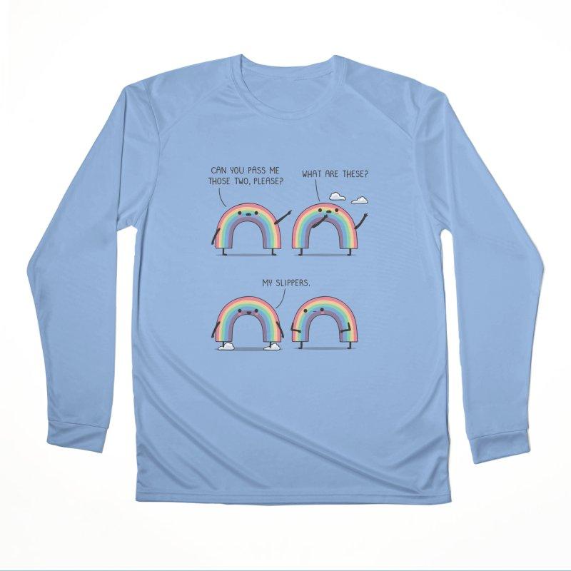 My slippers Men's Longsleeve T-Shirt by wawawiwadesign's Artist Shop