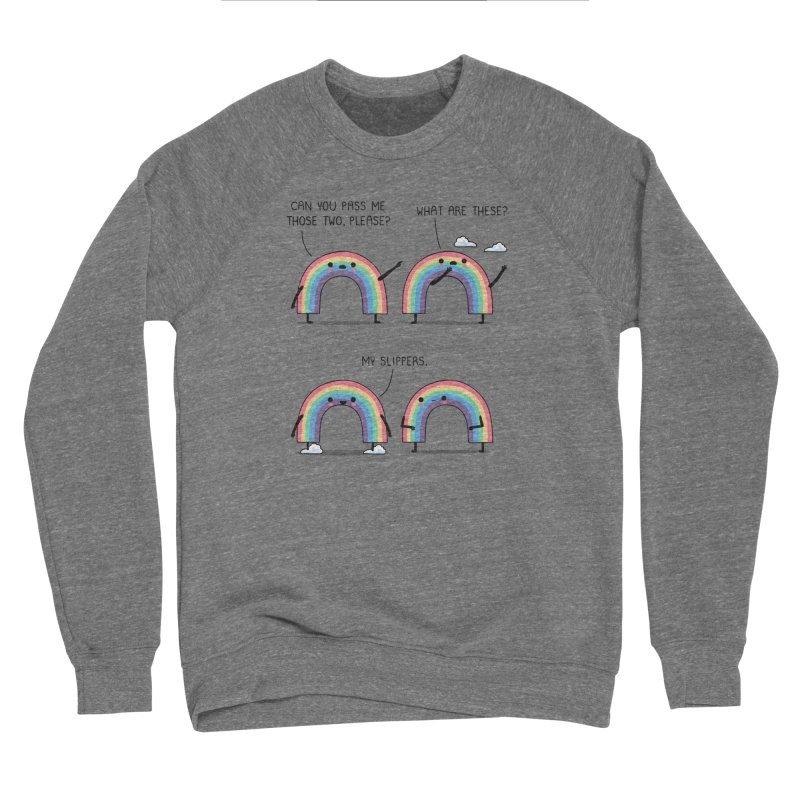 My slippers Men's Sweatshirt by wawawiwadesign's Artist Shop