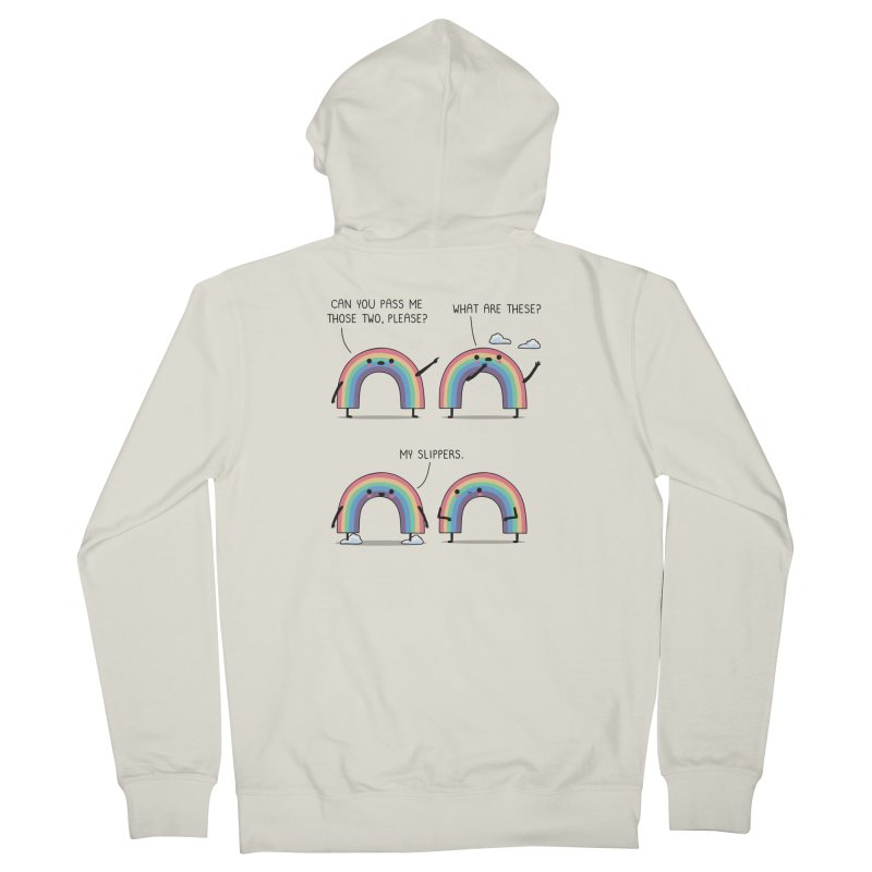 My slippers Men's Zip-Up Hoody by wawawiwadesign's Artist Shop