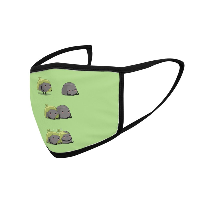 You help me the moss Accessories Face Mask by wawawiwadesign's Artist Shop