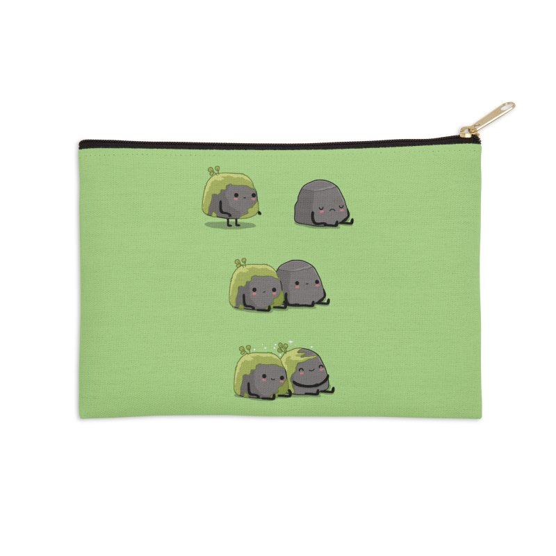 You help me the moss Accessories Zip Pouch by wawawiwadesign's Artist Shop