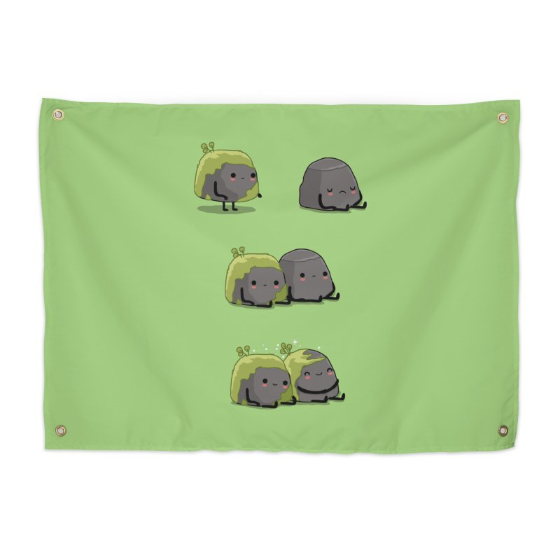You help me the moss Home Tapestry by wawawiwadesign's Artist Shop