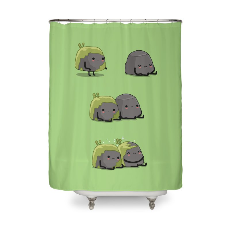 You help me the moss Home Shower Curtain by wawawiwadesign's Artist Shop