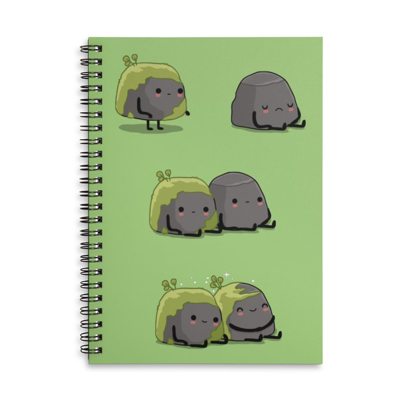 You help me the moss Accessories Notebook by wawawiwadesign's Artist Shop