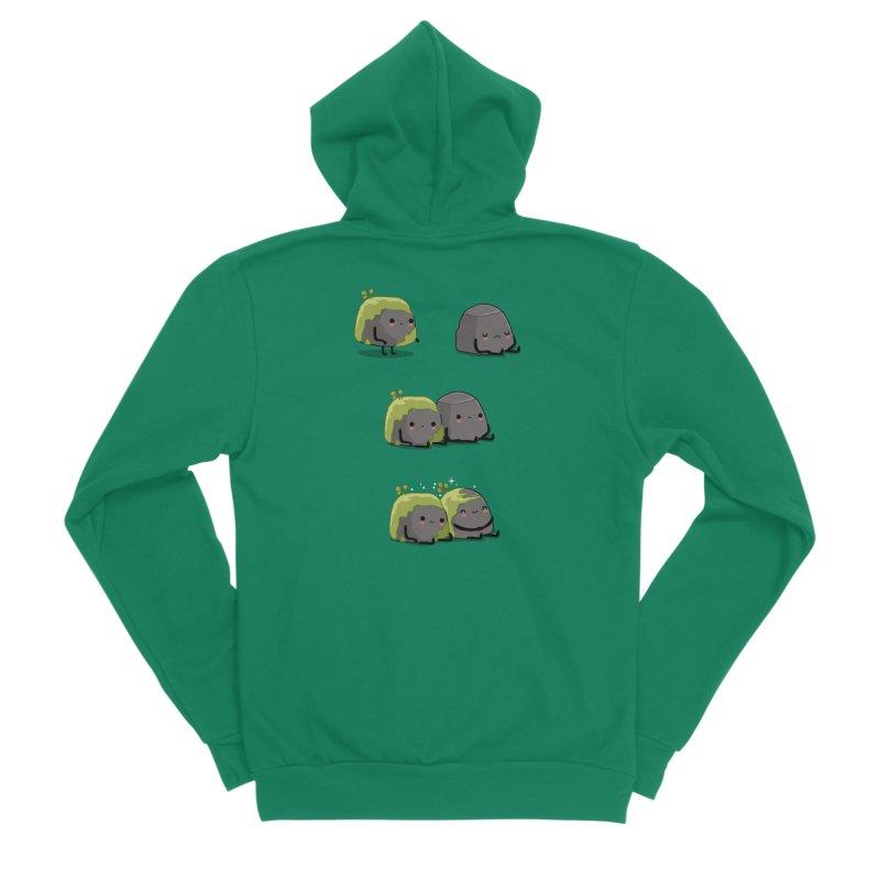 You help me the moss Men's Zip-Up Hoody by wawawiwadesign's Artist Shop