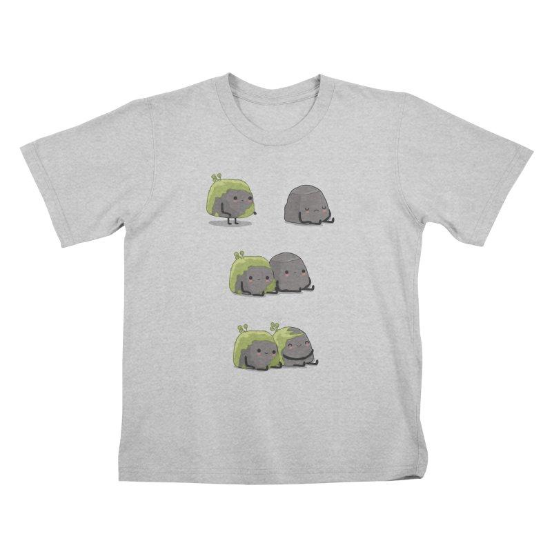 You help me the moss Kids T-Shirt by wawawiwadesign's Artist Shop
